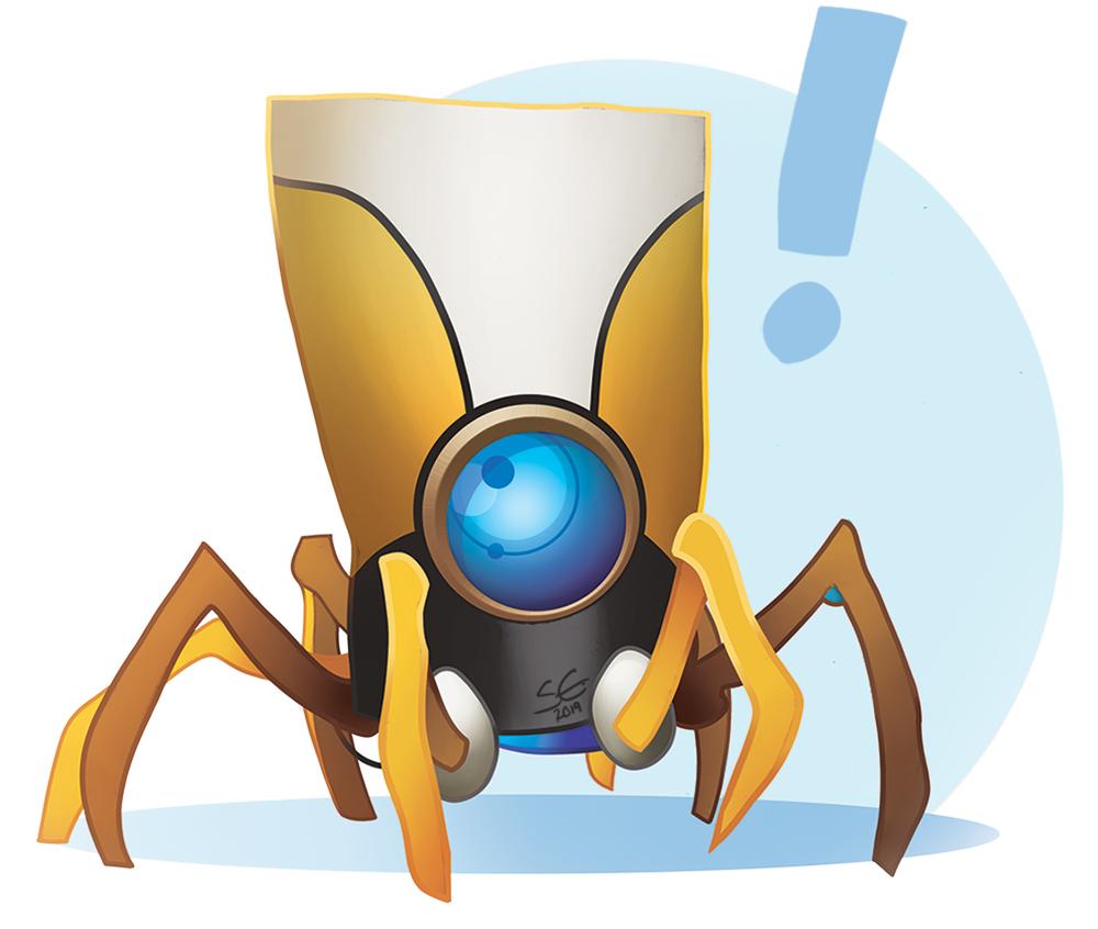 Shianne Writes Announcement Robot Small